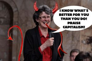REP. EILEEN CODY IS THE DEVIL! by crizzlesbuttons