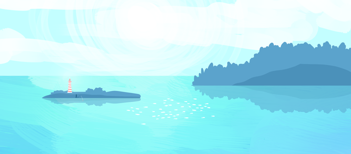 Little Landscape by PineMelons