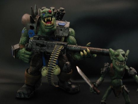 warhammer 40k custom ork by soulbrother73
