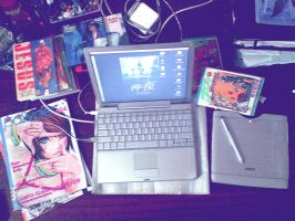 PowerBook G4 by SantaFung