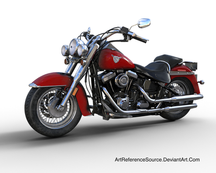 Free Stock PNG:  Motorcyle by ArtReferenceSource