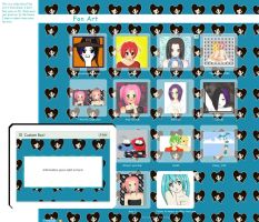 Box N Gallery CSS 4 Kittilaura by Zinnia-Aster