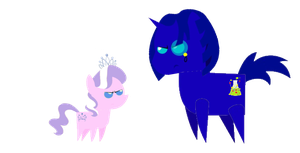 Hovis and Diamond Tiara's rivalry by jared33