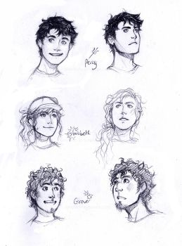 PJO sketches by lorellashray