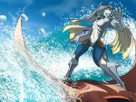 Ray Surfin' by scowlingelf