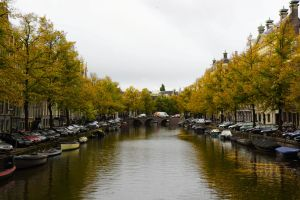 Autumn Amsterdam by Destroth