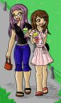 Digi: Slurpee Girls by Miss-Mae