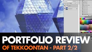 Portfolio Review of Tekkoontan Part 2 by ClintCearley