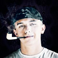 Cody with pipe by TwistedLabel