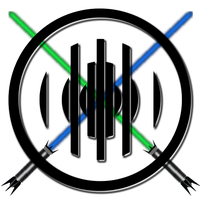 Crossed Lightsabers Force Order Logo by DatRets