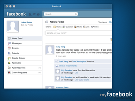 Facebook Redesigned by winsontsang