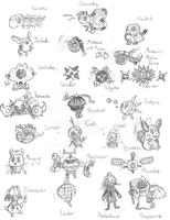 Pocket Monsters by GamingDylan
