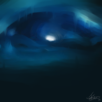 The Ice Cave by fabman132