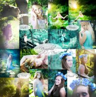 -355- Nymph Collage by MiriamPeuser