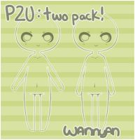 Simple Two Pack [P2U] by WanNyan