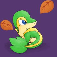 Request: Jinjo the Snivy by NeoTheBean