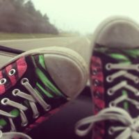My Favorite Converse. by Stefany-Lyn