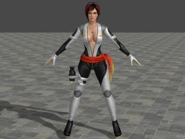 DOA5 LR Mila Fighter force costume by zareef