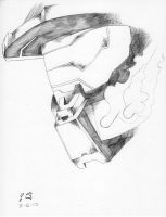Master Chief Pencil by whitekidz