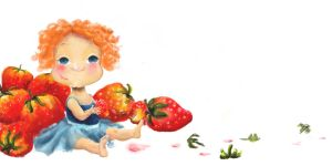 Strawberry time by 1Spoon-of-Turquoise