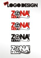 zonamerah new logo design by zonamerah