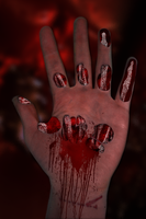 Hand Gore by wasted49