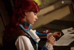 Elise last letter - Assassin's Creed Unity by Elanor-Elwyn