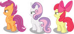 3 Little Crusaders With 3 Strong Hearts by strawberrythefox1452