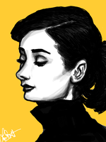 Audrey in Sunshine by WisdomsPearl