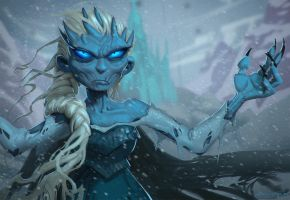 Elsa the White Walker by Murph3