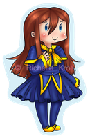 OC keychain commish by roseannepage