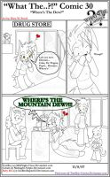 'What The' Comic 30 by TomBoy-Comics