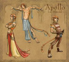 PE - Apollo for Miredd by purplerebecca