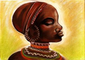 African woman by Margaret94