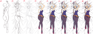 Battle Bunny Riven (STEP BY STEP) by Hananon