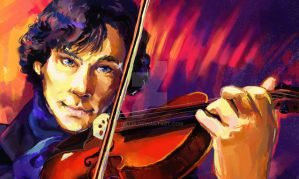 Sherlock Close Up by nillia
