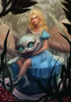 Alice in wonderland by Nilfea