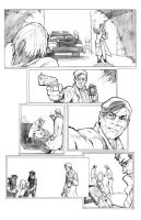 Comic pages... by TV-TonyVargas