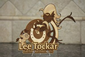 Lee Tockar EFNW 2015 Plaque by Earth-Pony