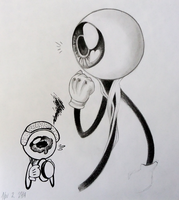 Eye Ball Shaun Doodlesss by Rizzy-Rizzy