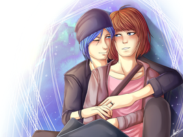 Life is Strange - Max and Chloe by M-ang