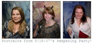 Pampering Party Portraits by che4u