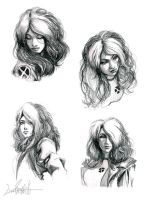 Rogue sketches by LivioRamondelli