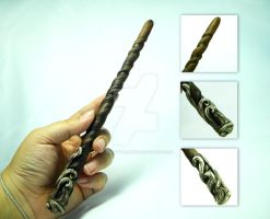Ivory Grip Wand by thedustyphoenix