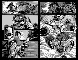 The Wild Ones Preview pages by romidion