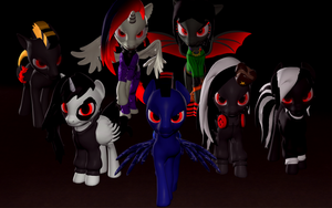 Red Eyes Children of the Night by ALMarkAZ