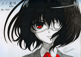RQ: Mei Misaki - Another by BlackLeatheredOokami