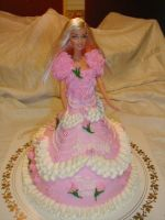 Another Barbie cake by LizzyLix