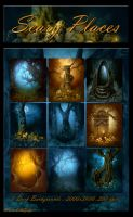 Scary Places backgrounds by moonchild-ljilja