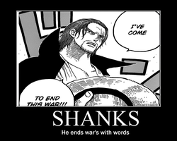Shanks Motivational by Ryuujin-Jakka